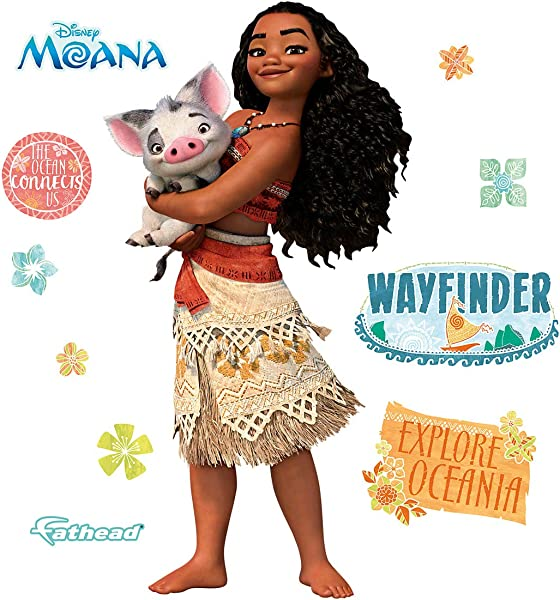 FATHEAD Moana X Large Officially Licensed Disney Removable Wall Decal