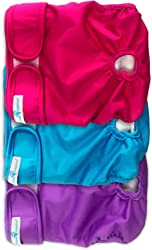 Paw Inspired Washable Dog Diapers | Reusable Dog Diapers | Washable Female Dog Diapers | Cloth Dog Diapers for Dogs in Heat, Puppy Diapers or Dog Incontinence Diapers