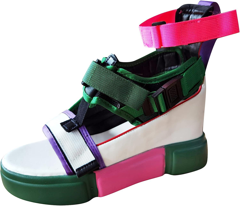 NLLSHGJ Platform Sandals Flip Flop Sandals For Women Womens Open