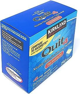 Kirkland signature Gum Quit 4 Stop Smoking Aid 190 pieces