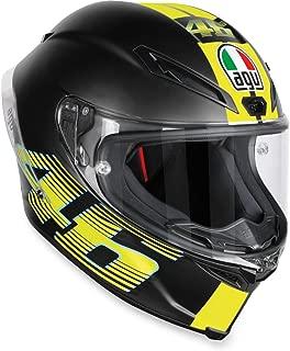 AGV Unisex Corsa-7 V46 Adult Helmet-Matte Black/Medium/Large