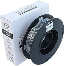 MYNT3D Elemental Aluminum PLA Filament for 3D Pens and 3D Printers, 1.75mm, 200g