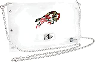 Littlearth NFL Unisex NFL Clear Carryall Crossbody Bag