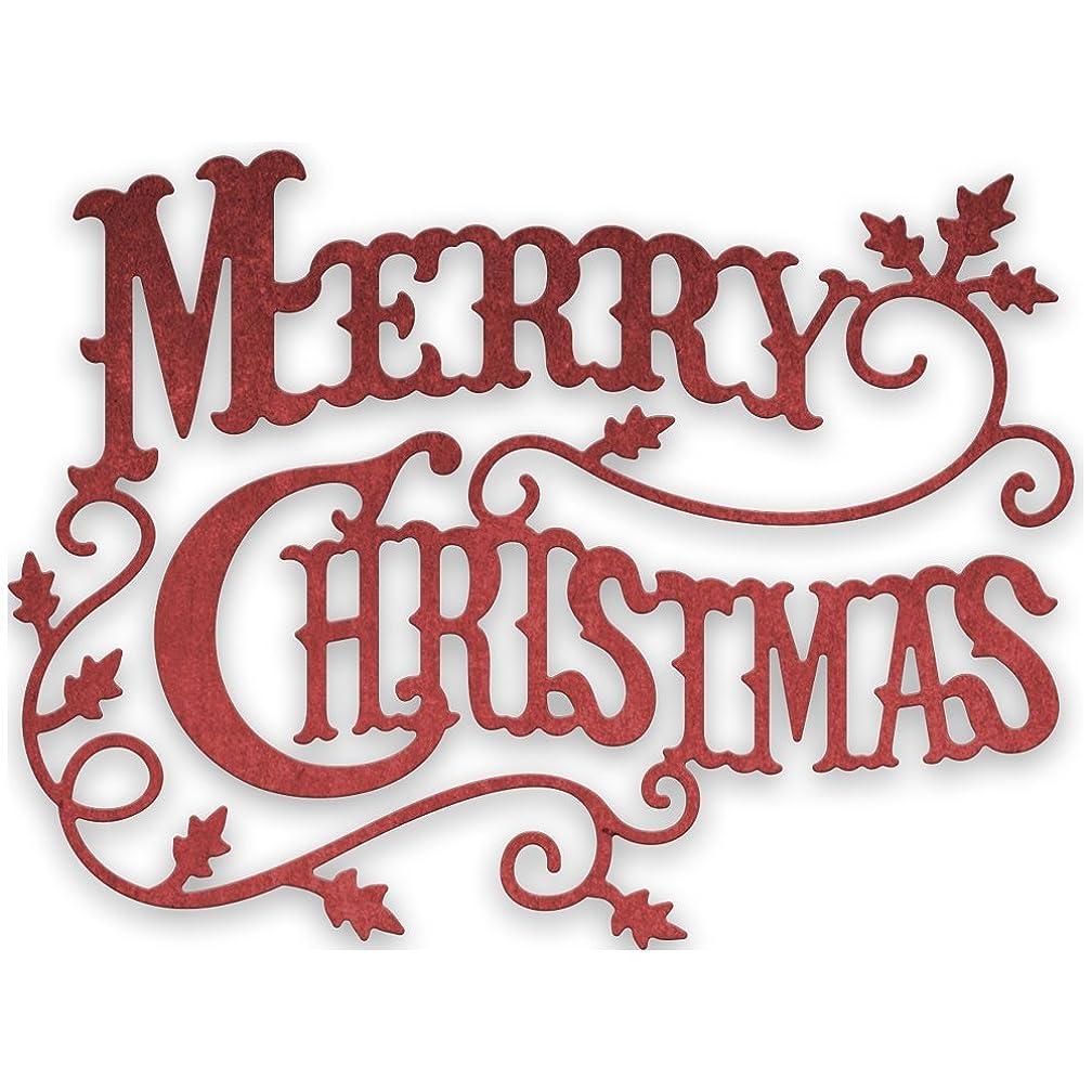 Cheery Lynn Designs CABD9 Merry Christmas, Die Cut