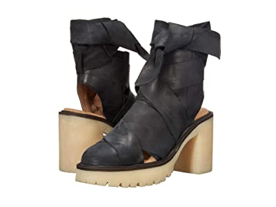 Free People Blake Platform (Black) Women