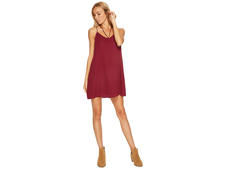 Lucy Love Ask Me Out Dress (Port) Women