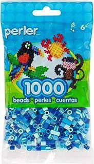 Perler, Assorted Beads, JEWEL TONE BLUE MIX