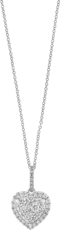 Effy 14K White Gold Diamond Heart Pendant, 0.45 TCW YCPCB31DD3