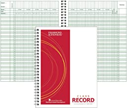 Hammond & Stephens 35 Student 9/10 Week Record Book, 8-1/2 x 11 Inches, PolyIce Cover