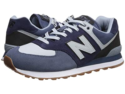 New Balance Classics 574v2-USA (Vintage Indigo/Black) Men