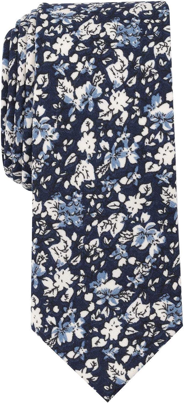 Bar Iii Mens Mini Floral Self-Tied Necktie