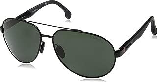 CARRERA Men's Sunglasses, Aviator, 8025/S - Black/Green