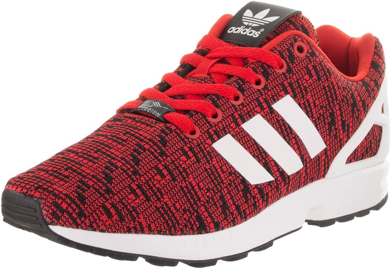 Adidas Originals Men's ZX Flux Graphic Red Core Black Footwear White 11 D US