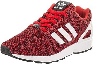 Originals Men's ZX Flux Graphic Red/Core Black/Footwear White 9.5 D US