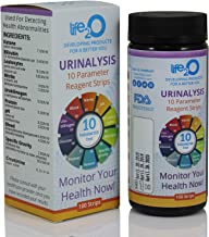 Complete 10-in-1 Urine Test Strips 100ct | Urinalysis Dip-Stick Testing Kit | Ketone, pH, Blood, UTI, Protein | Keto & Alkaline Diet, Ketosis, Kidney Infection & Liver Function | Free e-Book Included