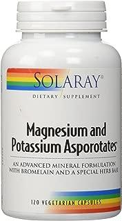 Magnesium and Potassium Asporotate Solaray 120 Caps