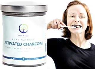 8oz Activated Coconut Charcoal, USP Food Grade, Powder for Teeth Whitening, Charcoal Mud Masks, Charcoal Teeth Whitening, Natural Teeth Whitening, Natural Skin Mask
