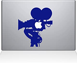 "The Decal Guru 0063-MAC-13X-DB Film Camera MacBook Decal Vinyl Sticker, 13"" MacBook Pro (2016 & Newer), Dark Blue"