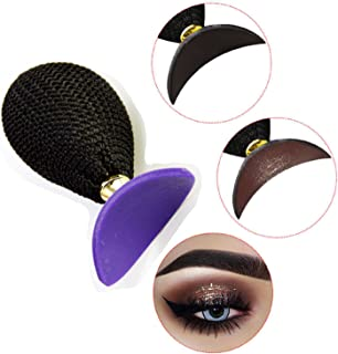 Lazy Eyeshadow Stamp Crease Makeup Draw Tool make precise eyeshadow in seconds,Purple