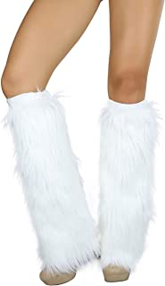 Women's Faux Fur Knee Hi Leg Warmer
