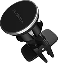 HUSSELL Magnetic Air Vent Car Phone Mount – Updated Version for Any Smartphone – Car Phone Holder – Universal Cell Phone Holder – Vent Phone Holder – Car Vent Mount – Air Vent Mount Holder