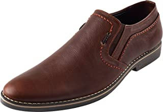 CHAMOIS Men's Genuine Leather Moccasins/Loafers