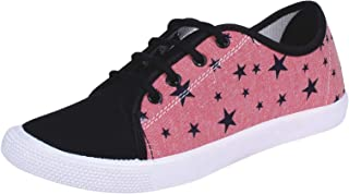 MATTY Womens Pink Casual Sneakers