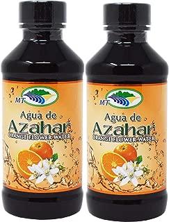 Madre Tierra Agua De Azahar 4 Oz Orange Flower Blossom Water 2 Pack