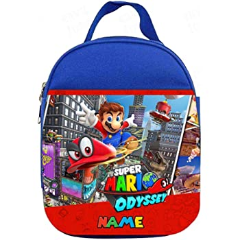Super Mario Insulated Lunch Bag Portable Cooler Bag Kids School Food Storage Bag