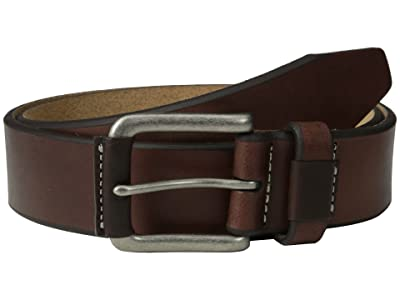 Johnston & Murphy Wrapped Buckle (Brown) Men