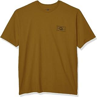 قميص Quiksilver رجالي قصير الأكمام مطبوع عليه KISS BY TUNA