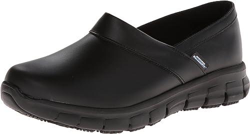 Skechers para el Trabajo Relajado Slip Fit Zapato de Trabajo Resistente