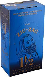 ZIG ZAG ROLLING PAPERS ULTRA THIN 1 1/2