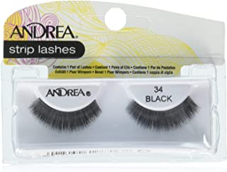 Andrea Style Eyelashes, 34 Black