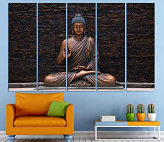 Kyara arts Big Size Multiple Frames, Beautiful Wall Art Painting for Living Room, Bedroom, Office, Hotels, Drawing Room Wo...