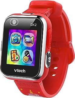 VTech - Kidizoom Smartwatch DX 2.0 - Unicorns - Kid's smartwatch, Dual Camera, Pedometer, Games - Red - 193820
