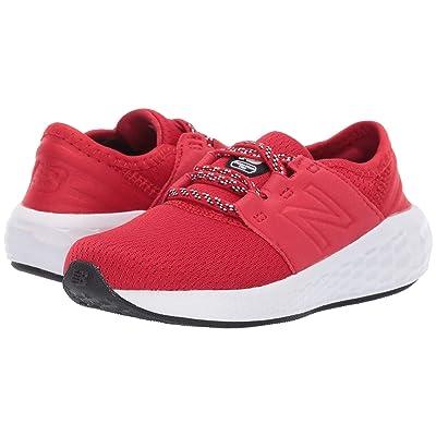 New Balance Kids IDCRZv2 (Infant/Toddler) (Team Red/Black) Boys Shoes