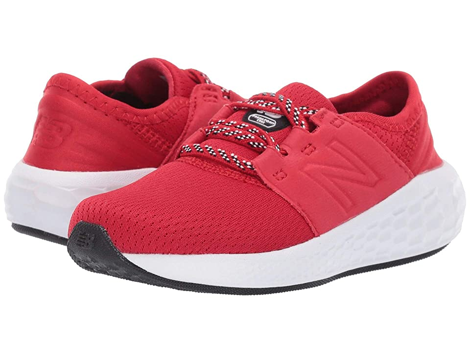 New Balance Kids IDCRZv2 (Infant/Toddler) (Team Red/Black) Boys Shoes