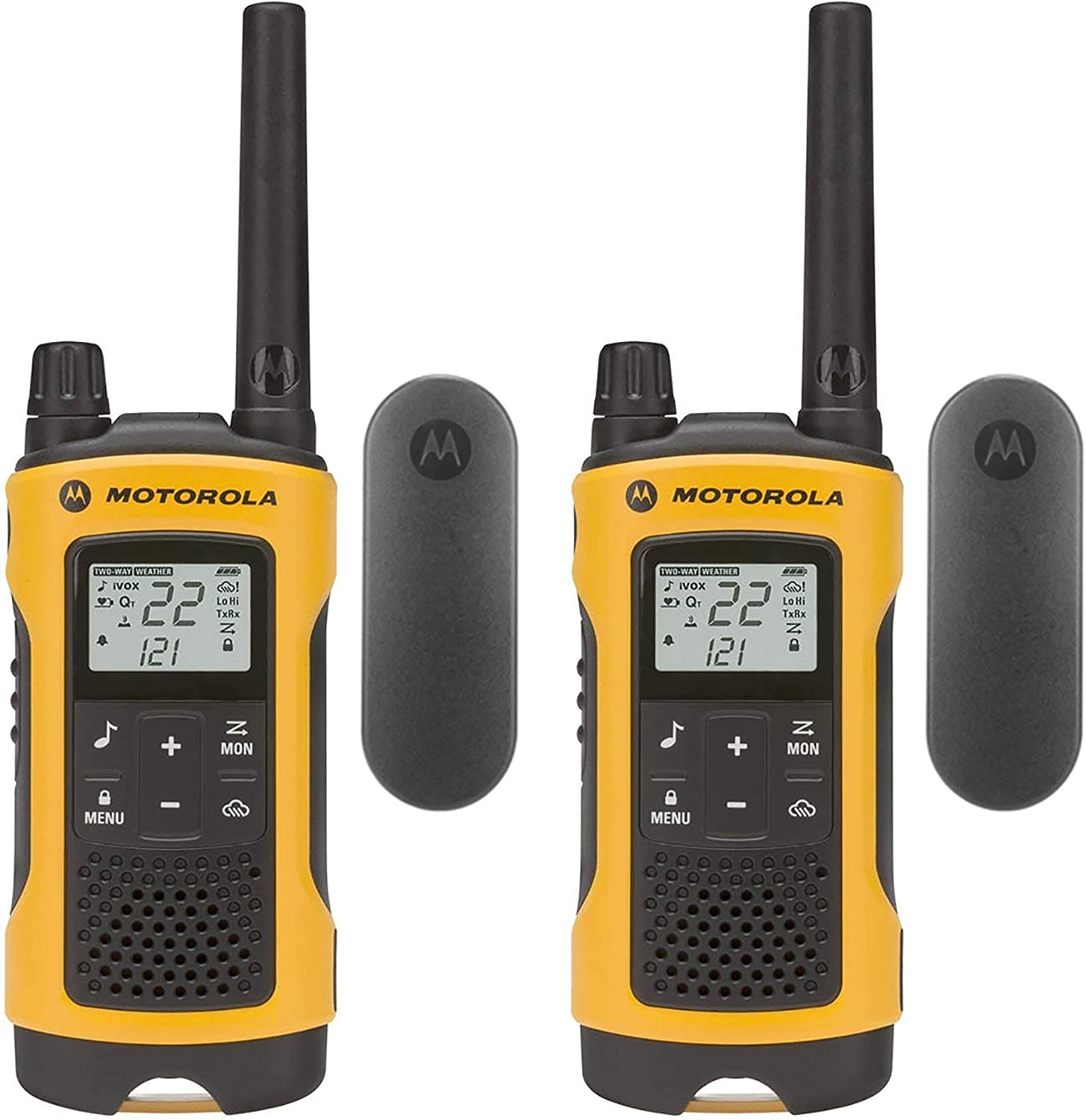 Motorola Talkabout T402 Rechargeable Radios Two-Way Re Time sale 2-Pack Cheap SALE Start
