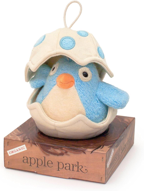 Apple Park Musical Baby Bird, bluee