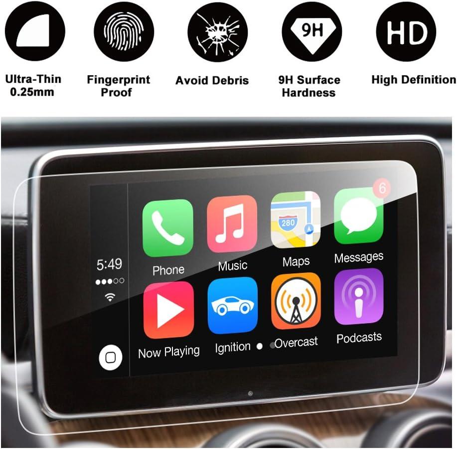 2016 2017 Mercedes Benz Glc Klasse X253 Glc 300 Amg Glc 43 Touchscreen Auto Display Navigation Screen Protector R Ruiya Hd Clear Gehärtetes Glas Schutzfolie 8 4 Inch Computer Zubehör