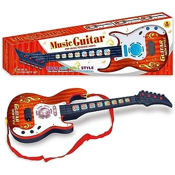Koyae Guitarra para Niños, 4 Cuerdas Guitarra Electrica Niños ...