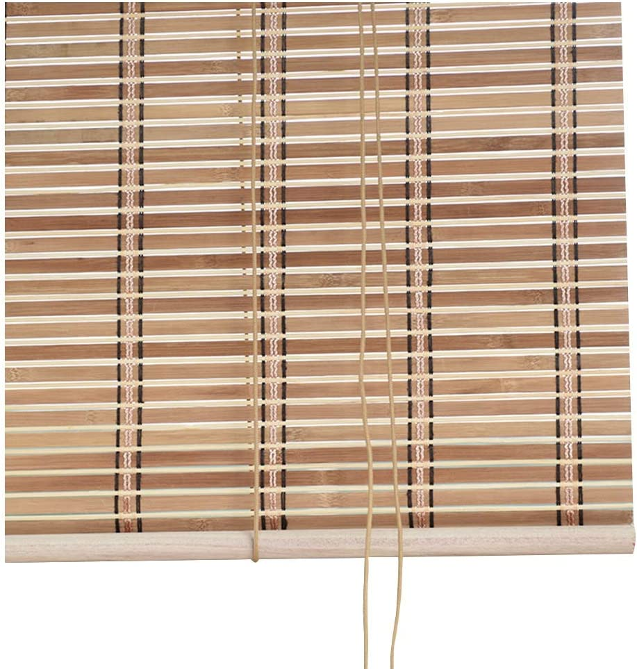 Large discharge sale LIANGJUN Bamboo Curtain Roller Blind Gorgeous Window Shades Roman Backgro