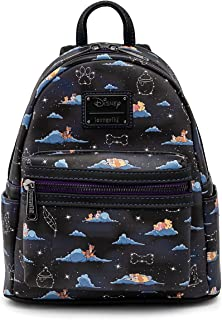 Loungefly Disney Classic Characters Clouds Womens Double Strap Shoulder Bag Purse