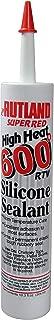 Rutland 600-Degree RTV Silicone Seal Cartridge, 10.3-Ounce, Super Red