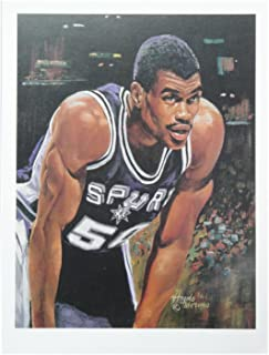 David Robinson 9x12 Poster Photo Unsigned San Antonio Spurs The Admiral New