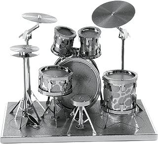 Fascinations Metal Earth Drum Set 3D Metal Model Kit