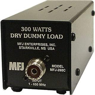 MFJ Enterprises Original MFJ-260C Dummy Load, 300 Watt, 0-650 MHz, Dry