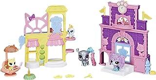 Littlest Pet Shop Prep 'n Party Double Playset Toy, Sparkle Deco, Includes Fan-Voted Pet, Ages 4 and Up (Amazon Exclusive)