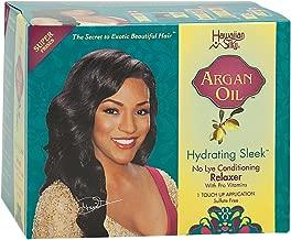 Hawaiian Silky Argan Oil Hydrating Sleek No Lye Touch Up Relaxer - Super